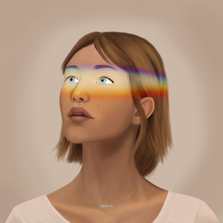 Il·lustració noia de Maruxi