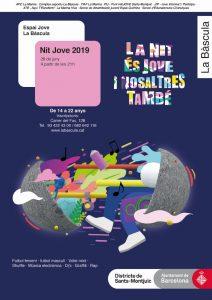 nit jove 2019 espai jove la bàscula