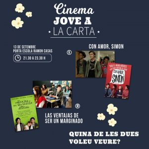 Cinema Jove a la carta